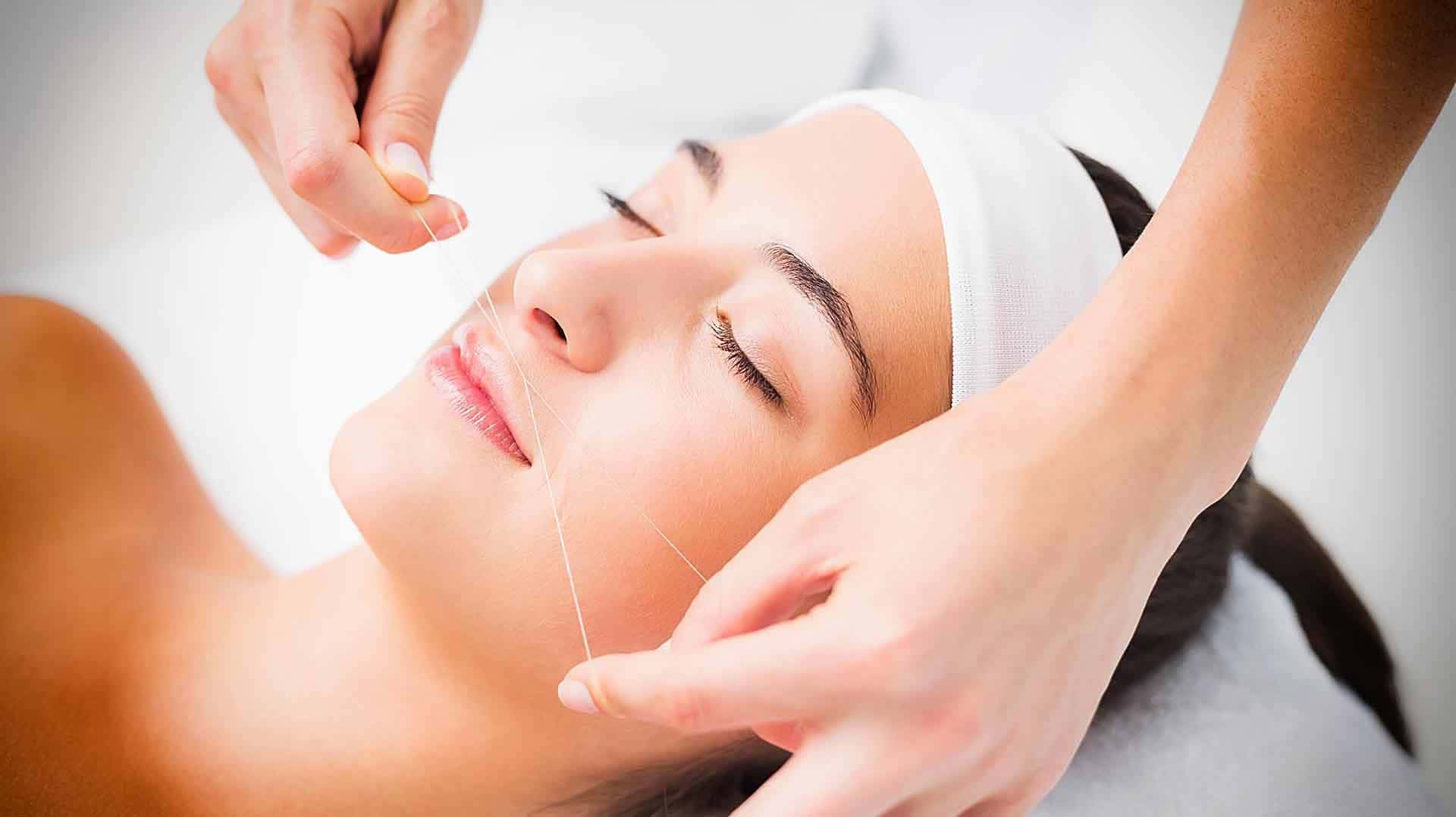 Hair Removal - Face Threading